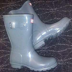 "Hunter ""Original"" Short Gloss Rain Boots"